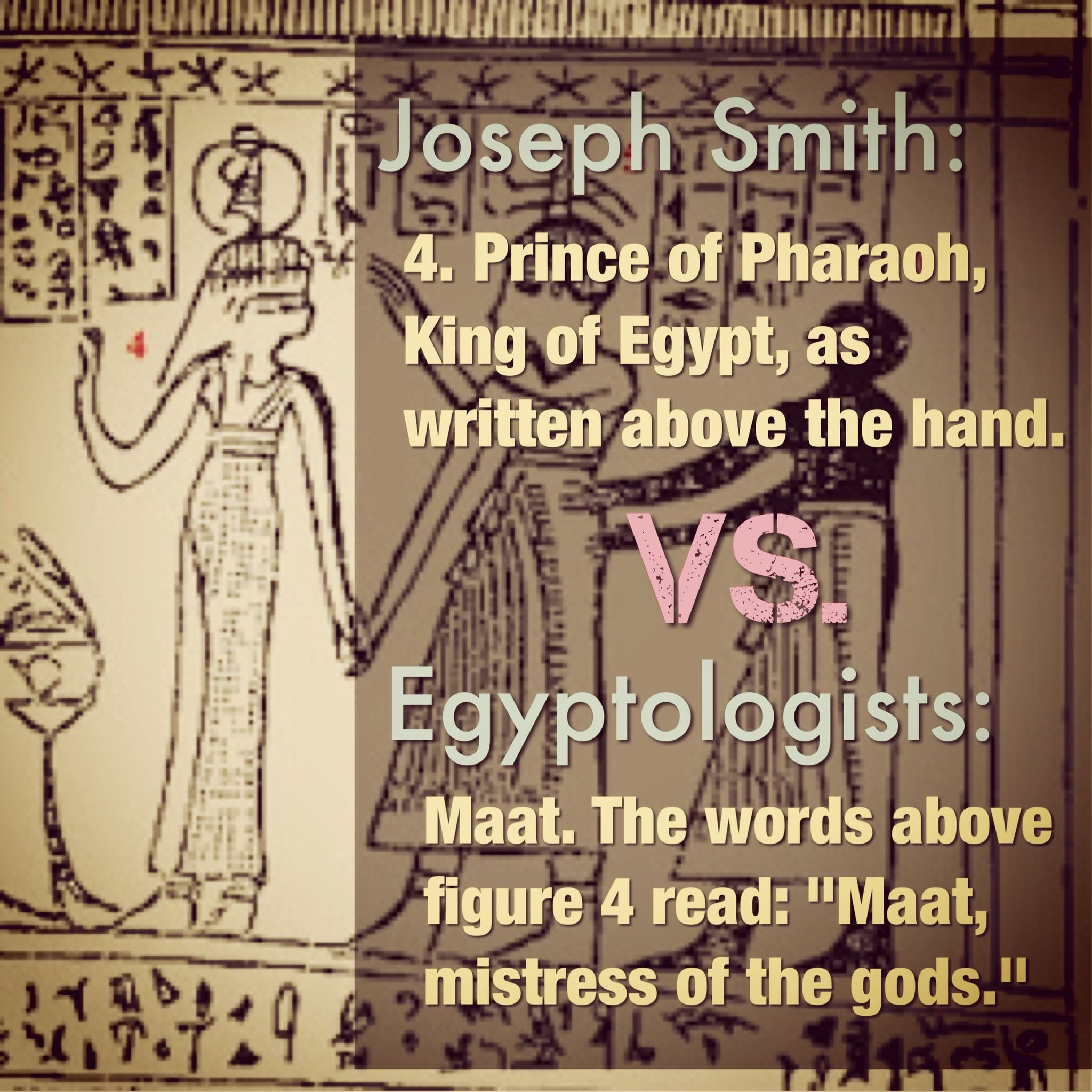 prince of pharaoh or maat?
