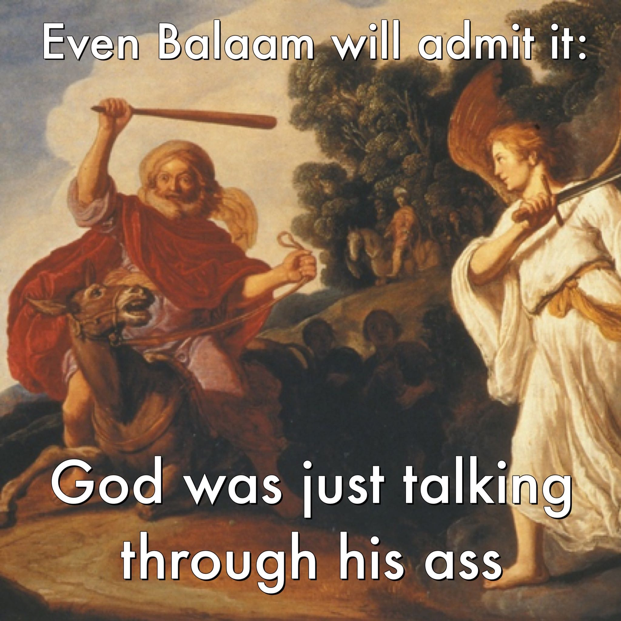 even balaam admits it