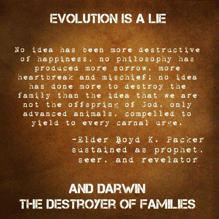 darwin destroys families