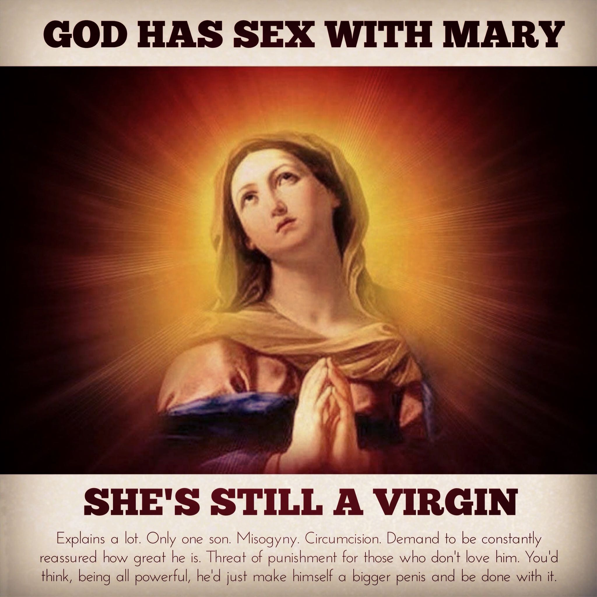mary is still a virgin