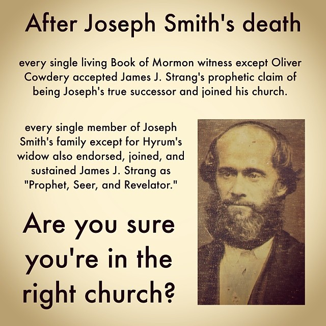 are you in the right church?
