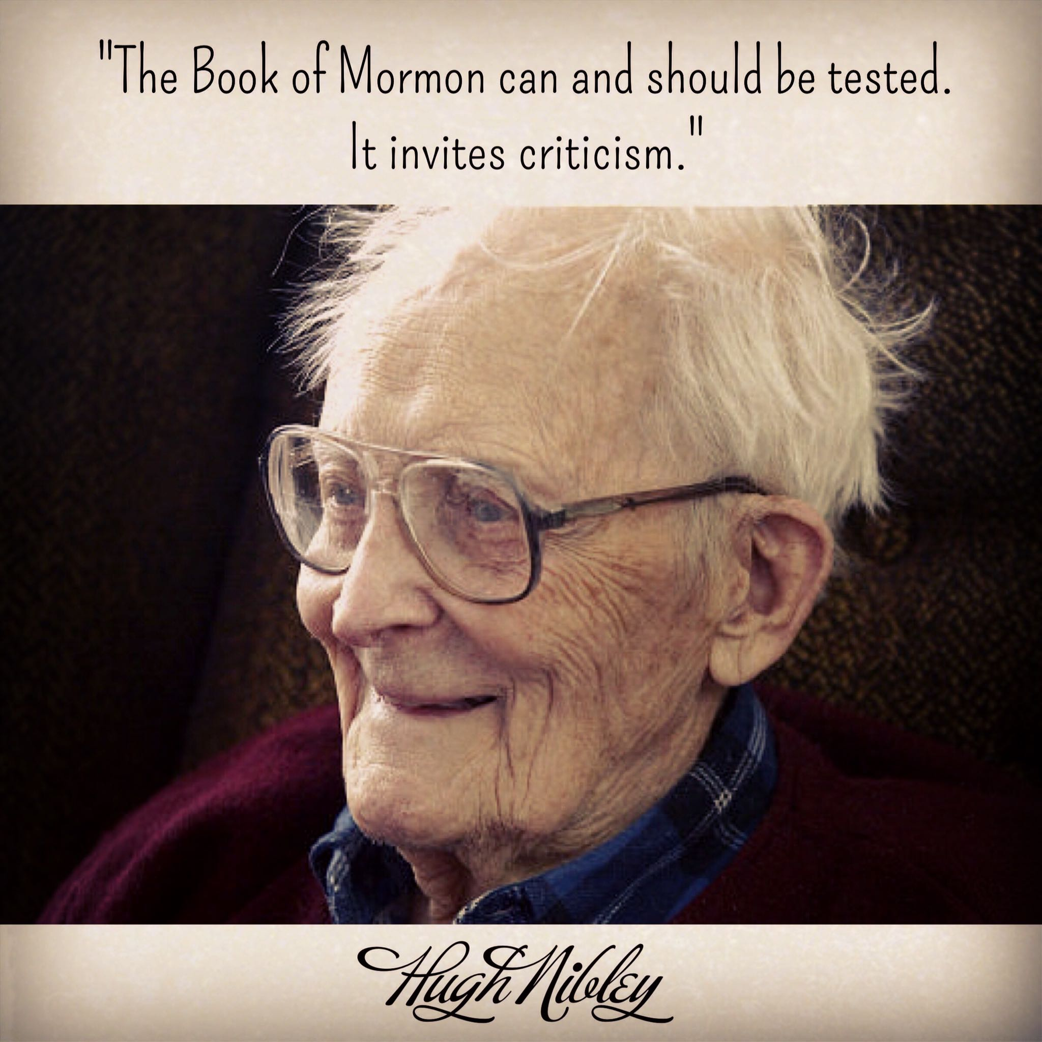 Test the Book of Mormon