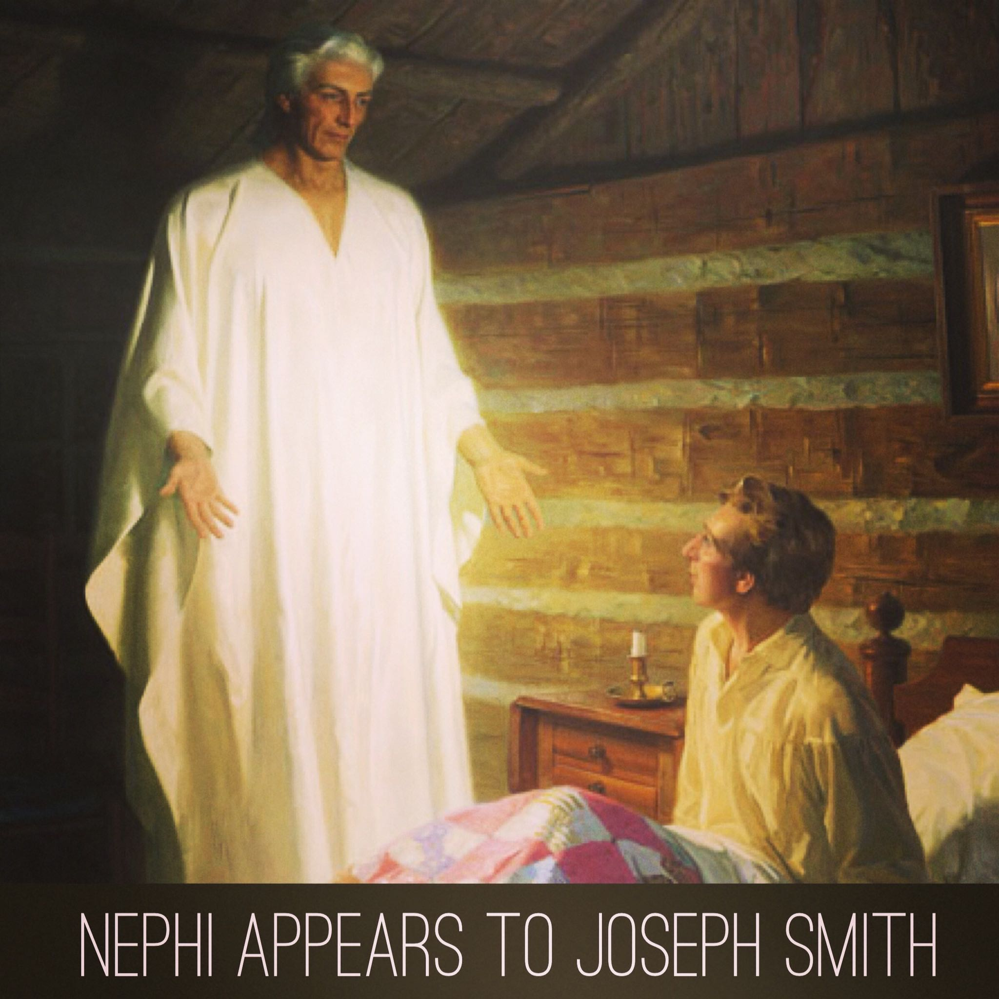 Nephi appears to Joseph