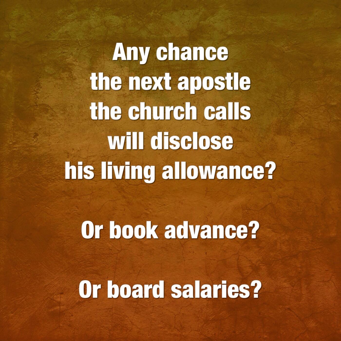 Modest living allowance