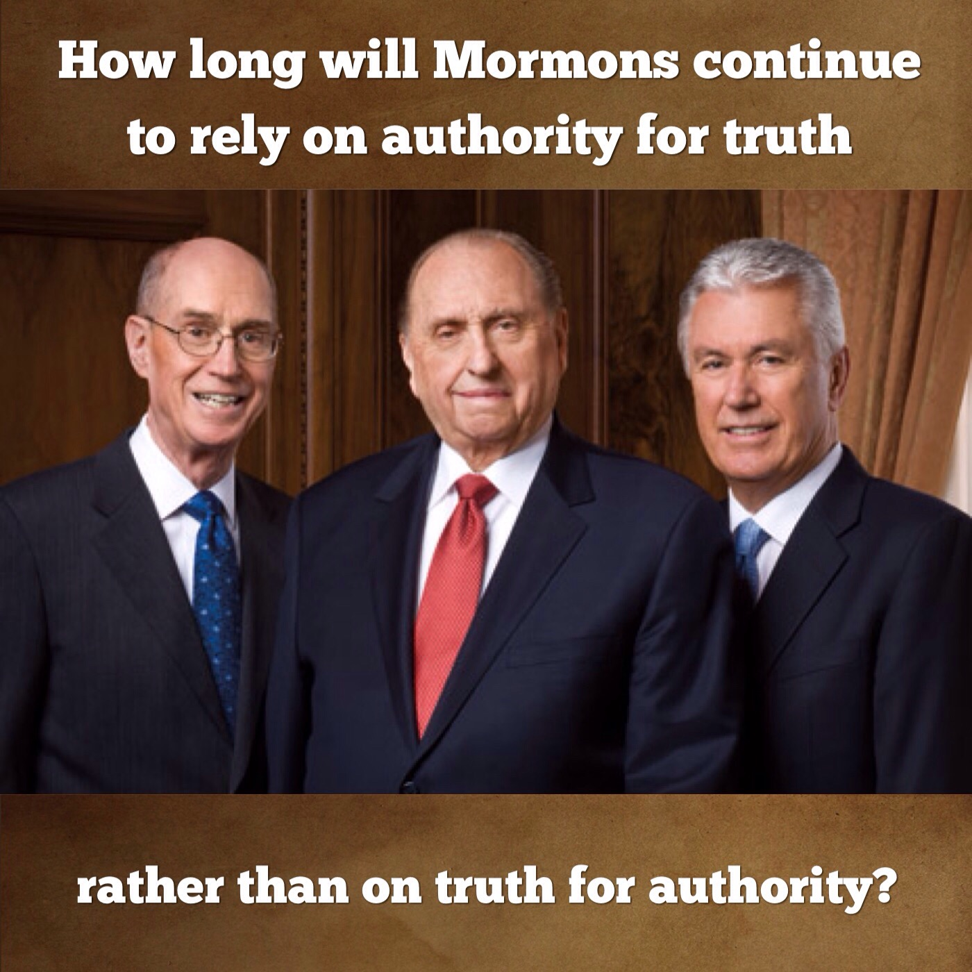 Truth or authority?