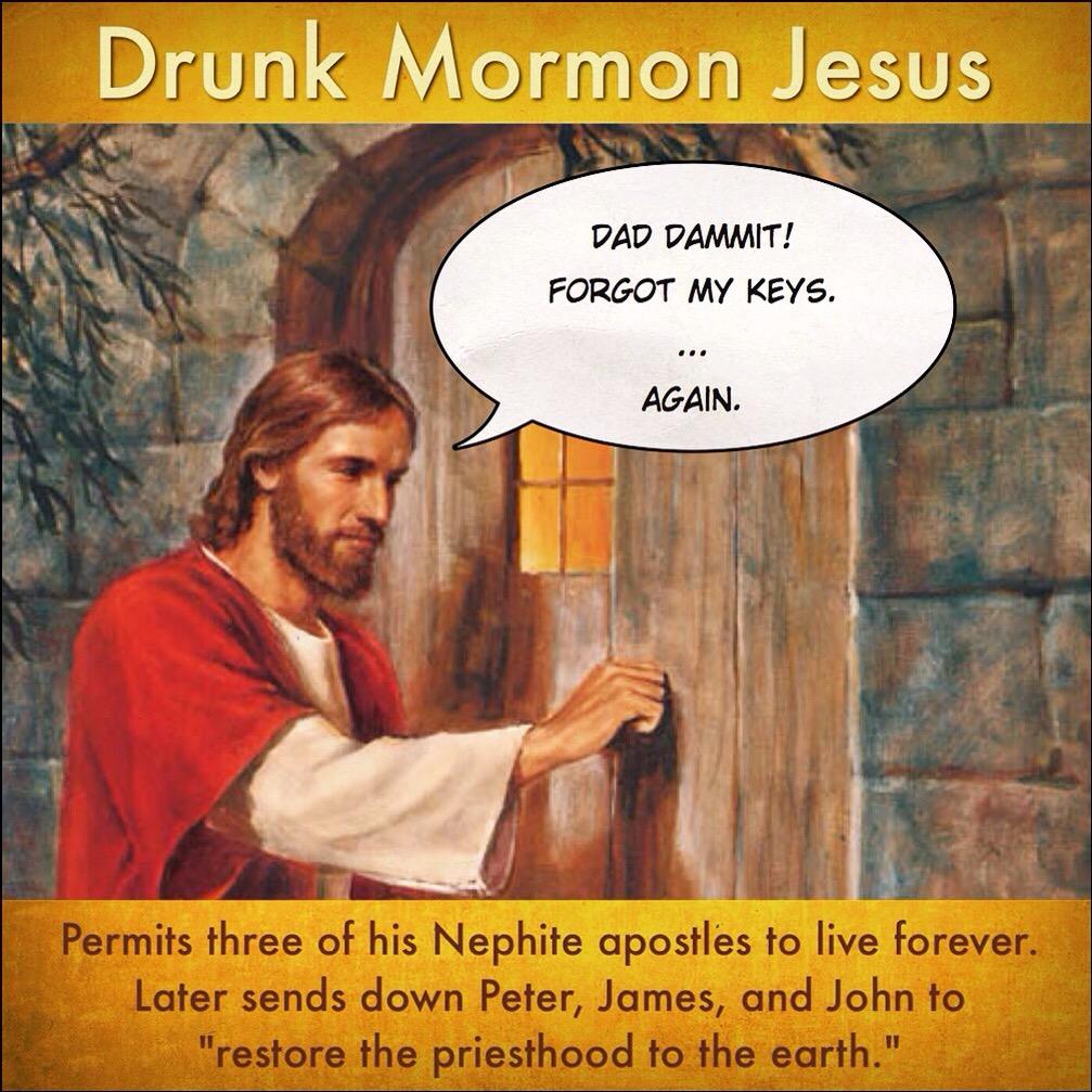 Drunk Jesus