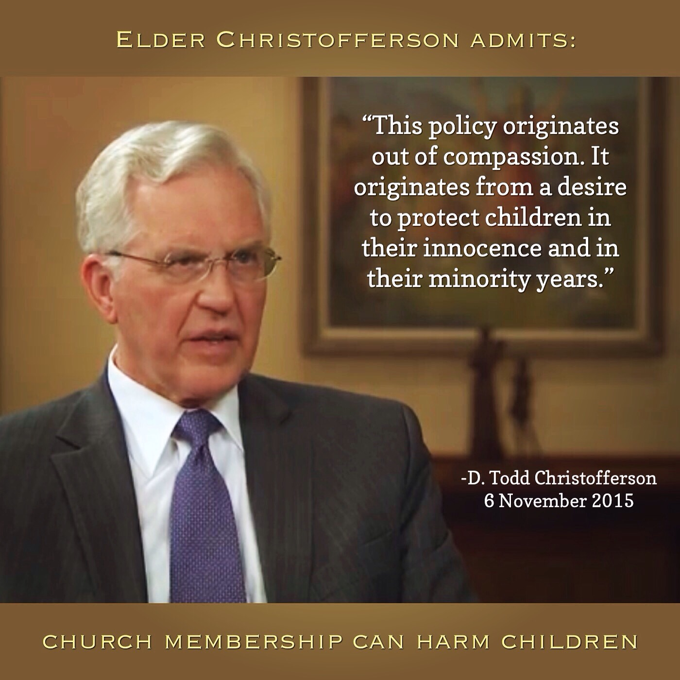 Church harms children