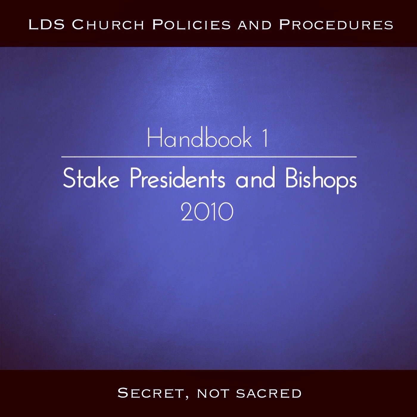 Secret Handbook 1