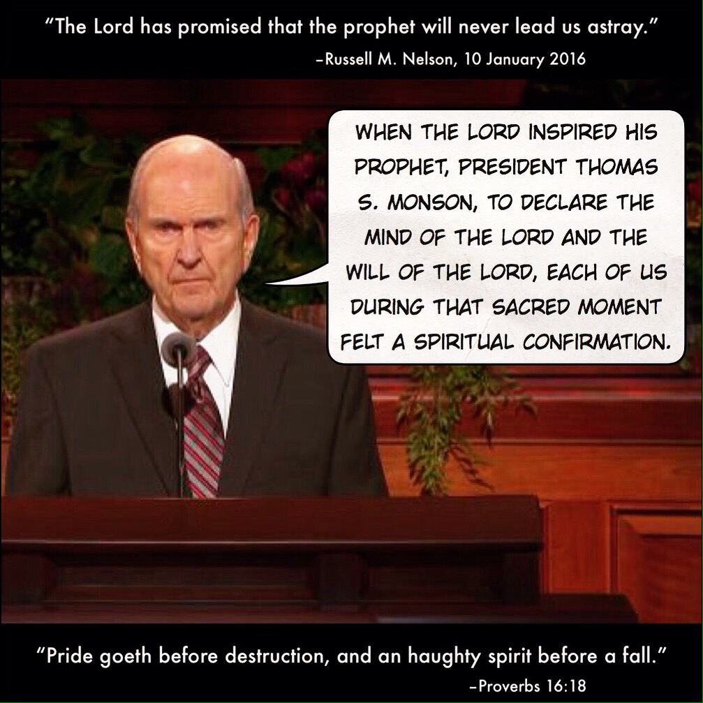 Leading the church astray