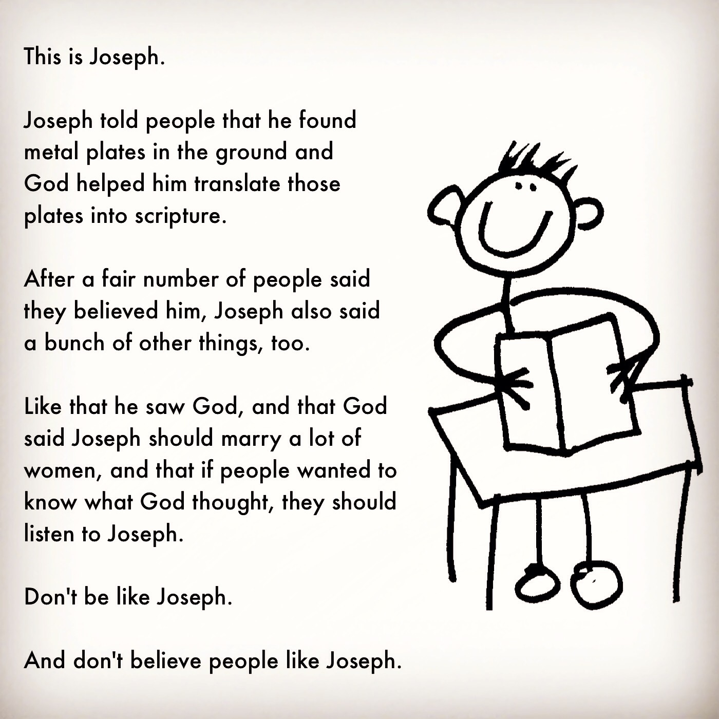 This is Joseph