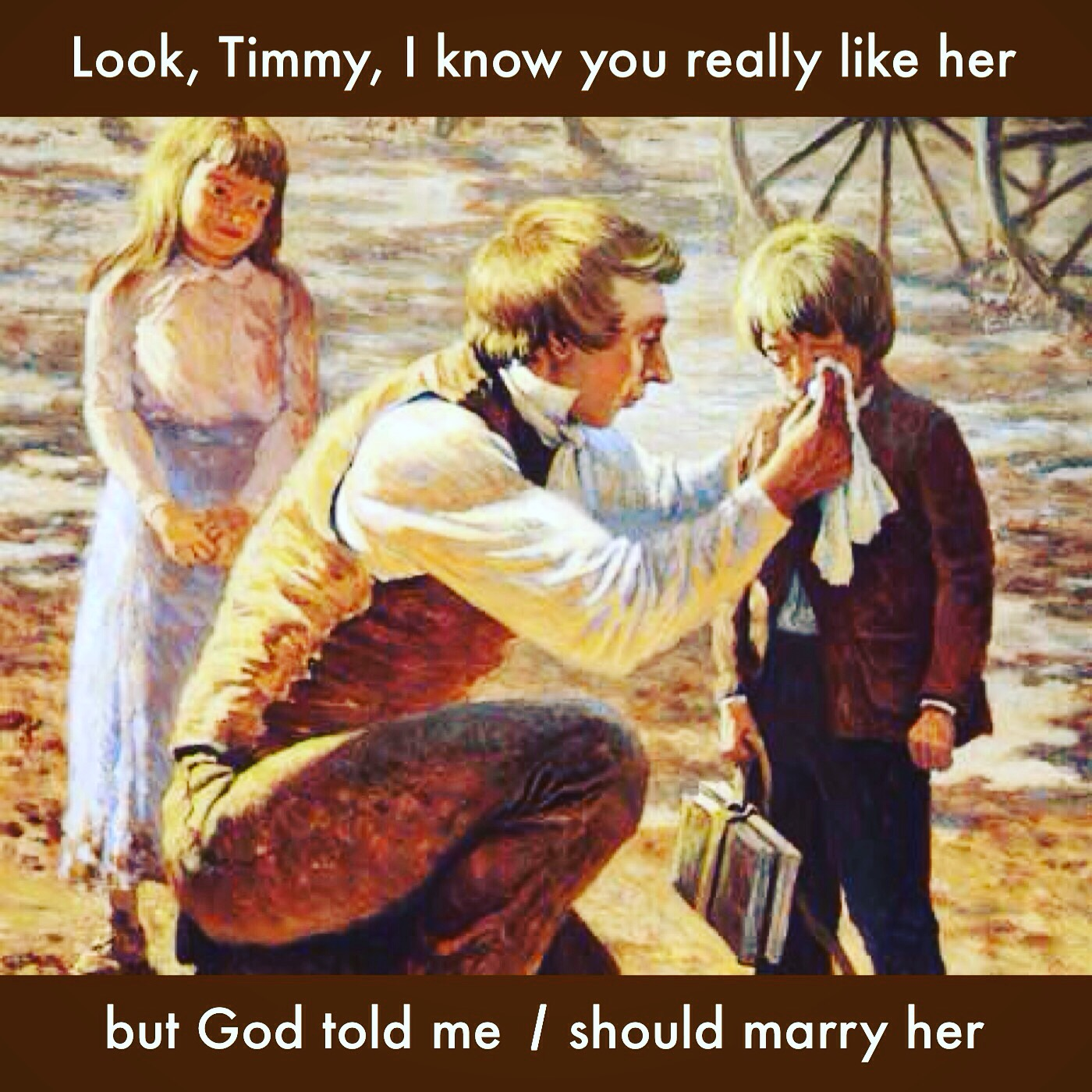 Joseph's child bride