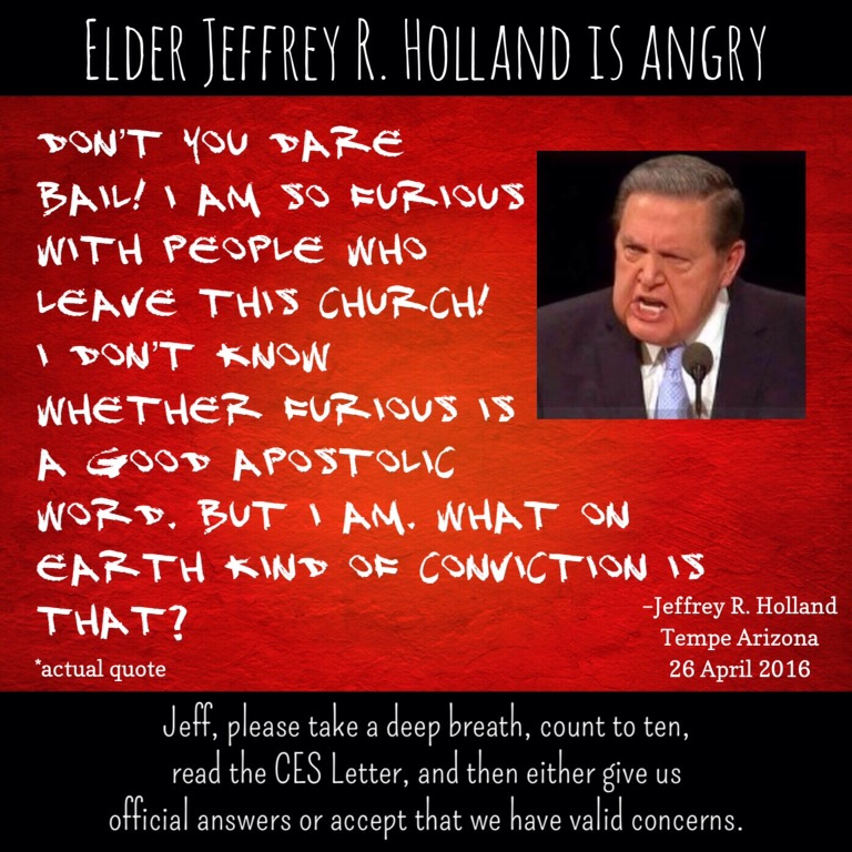 Apoplectic Elder Holland