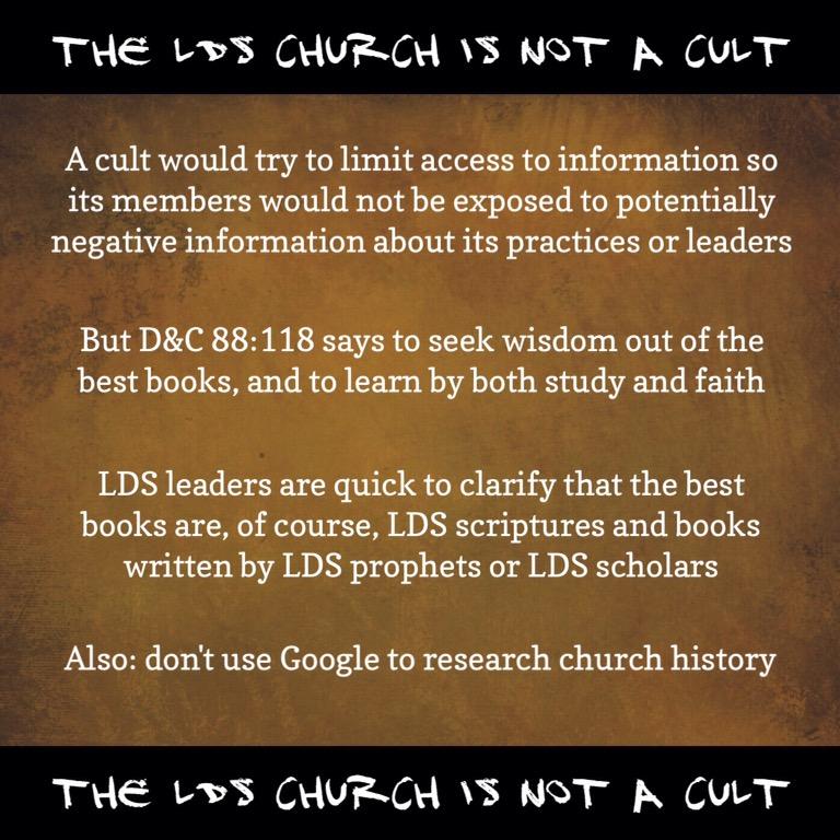 Not a cult