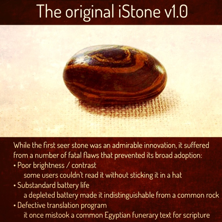 The original iStone