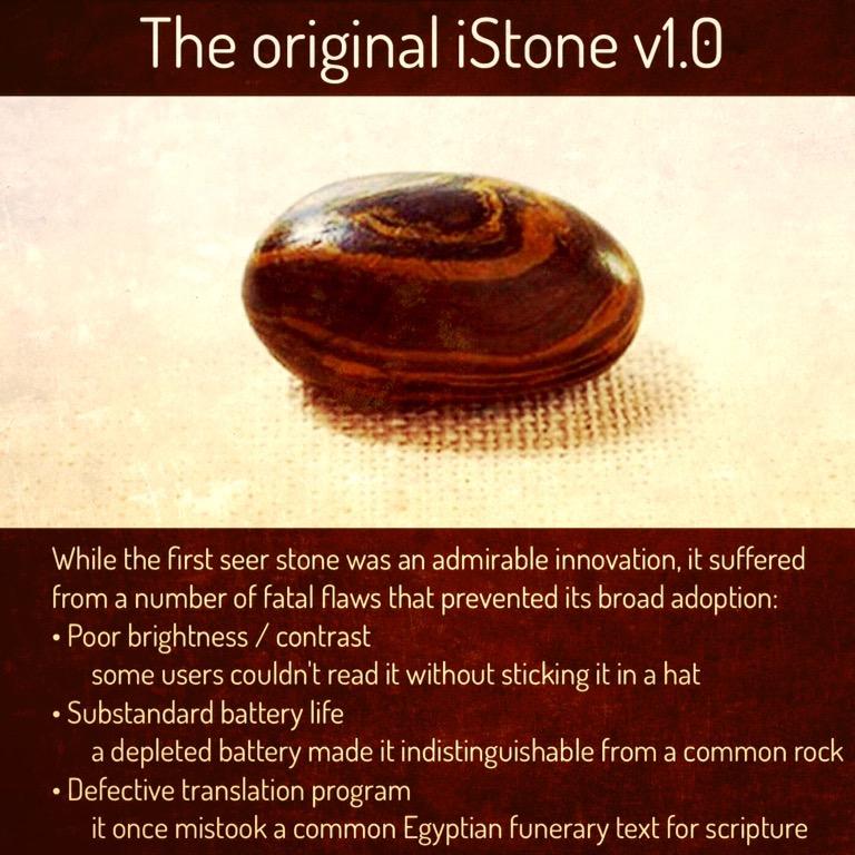 The original iStone