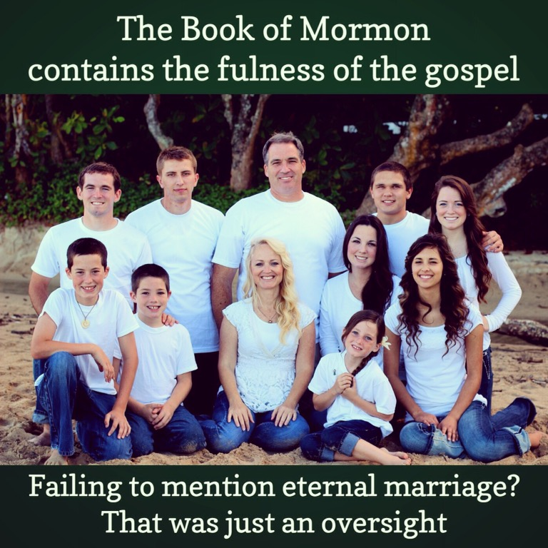 Temple marriage unnecessary