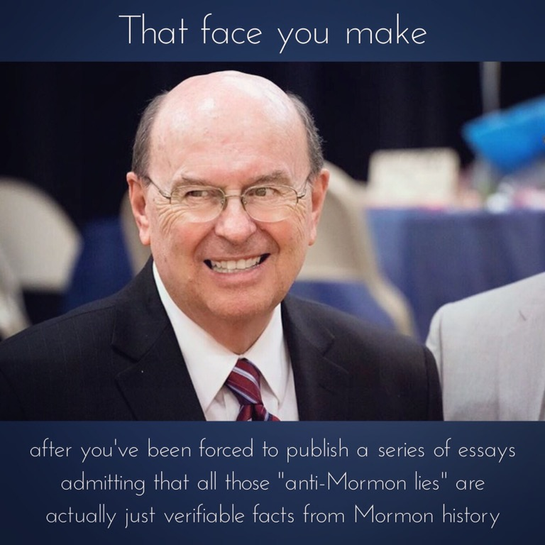 "Church essays confirm ""anti-Mormon lies"""