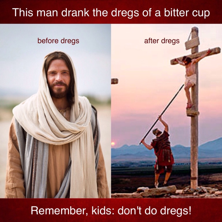Just say no to dregs