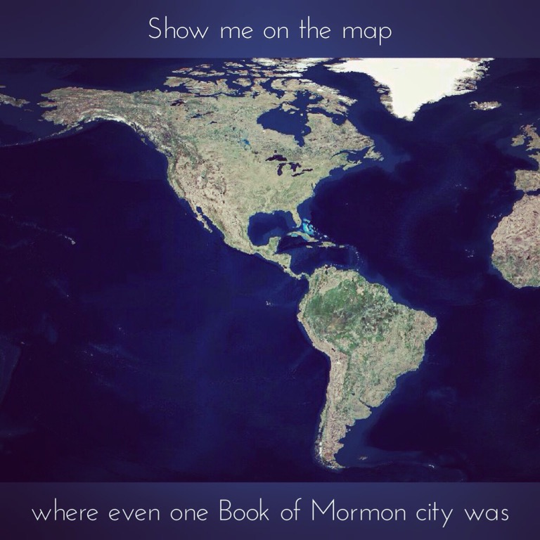 Where were Book of Mormon cities?