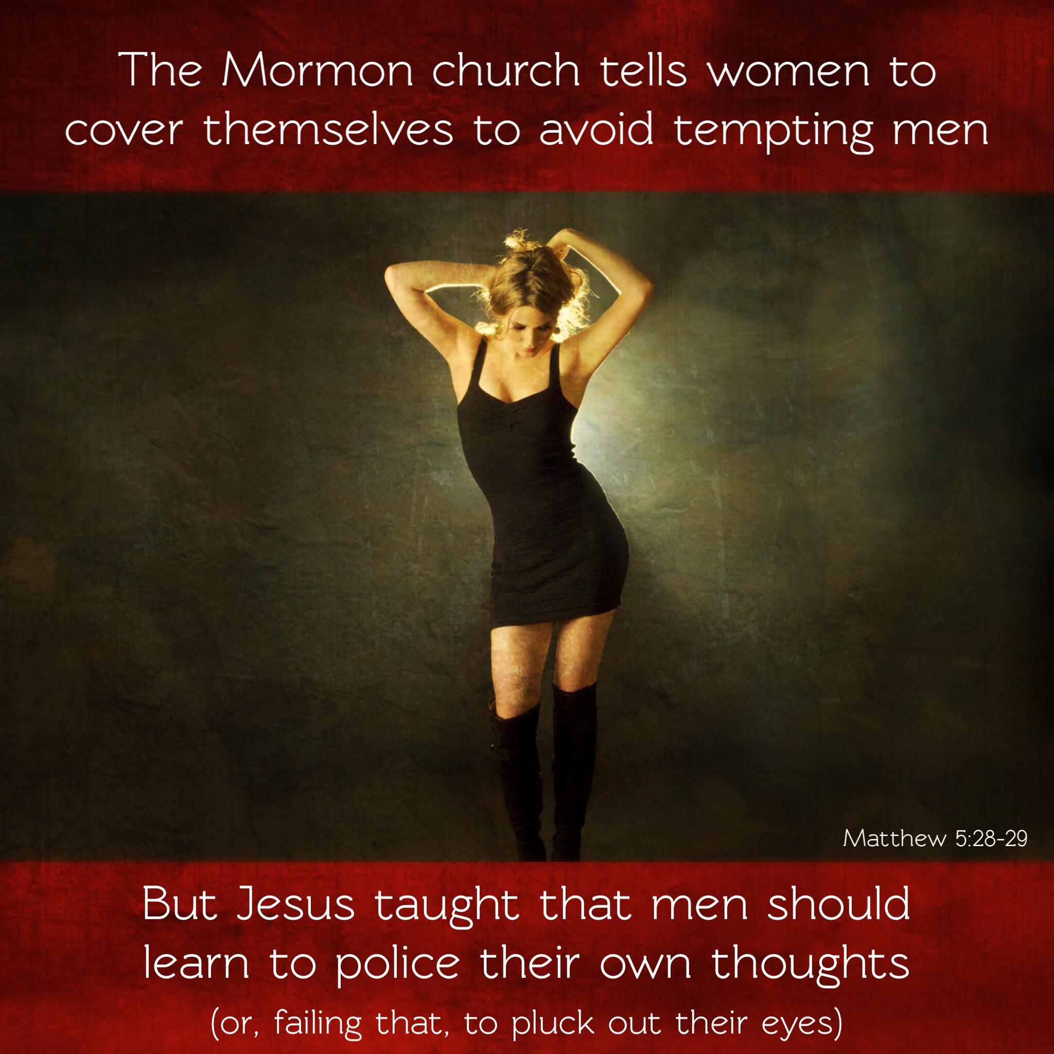 Mormon modesty